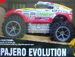 mitsubishi pajero evolution 2006 dakar rally edition rc schaal 1:18
